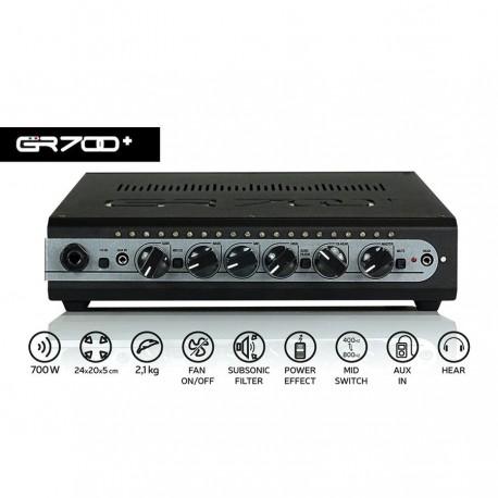 GRBASS - GR700+ Black (Testata Bass)