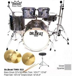DR.BEAT Drums - Two Master 522 Silver (Promo)