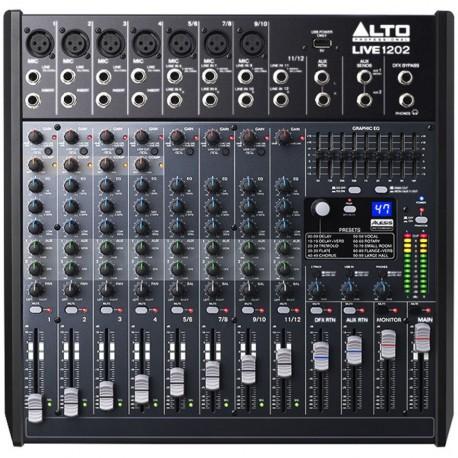 ALTO - Live 1202 (Mixer con effetti Alesis)