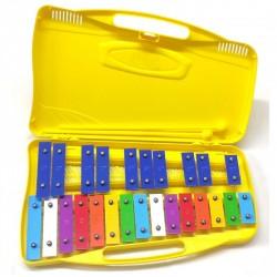 ALYSEE Metallofono / Glockenspiel (MT25-C-YL)