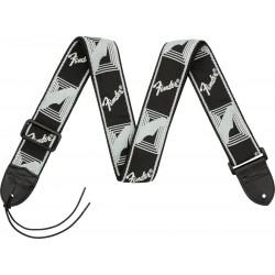 Fender Monogrammed Strap Black/Light Grey/Dark Grey