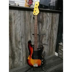 Vintage V4 Icon Bass Distressed sunburst